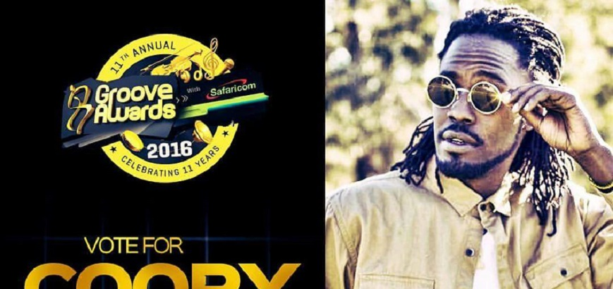 COOPY BLY NOMINATED IN GROOVE AWARDS (2016)