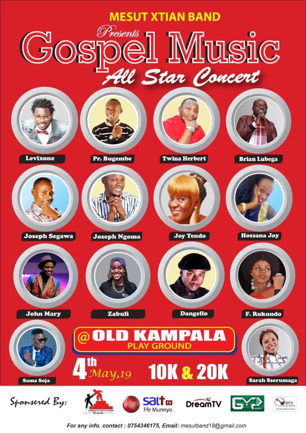 Gospel Music All Star Concert postponed by the Ugandan Police