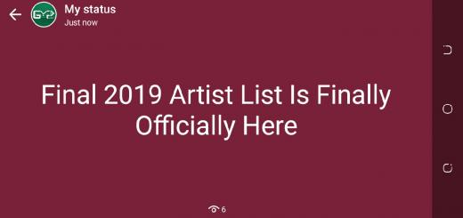 Final 2019 Artist List Is Finally Here