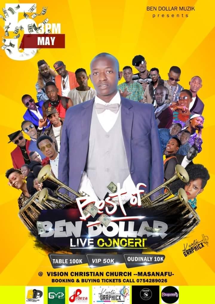 Best of Ben Dollar Live Concert