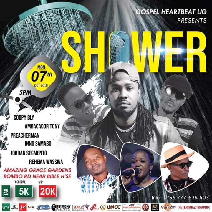 Gospel Heart Beat Presents   Shower
