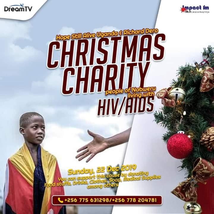 Christmas Charity | Hope Still Alive Uganda and Richard Zero Presents