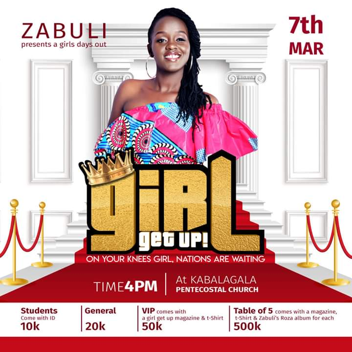 Girl Get Up - Zabuli Presents