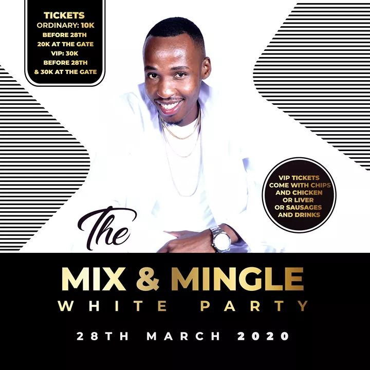 The Mix And Mingle Gospel White Party