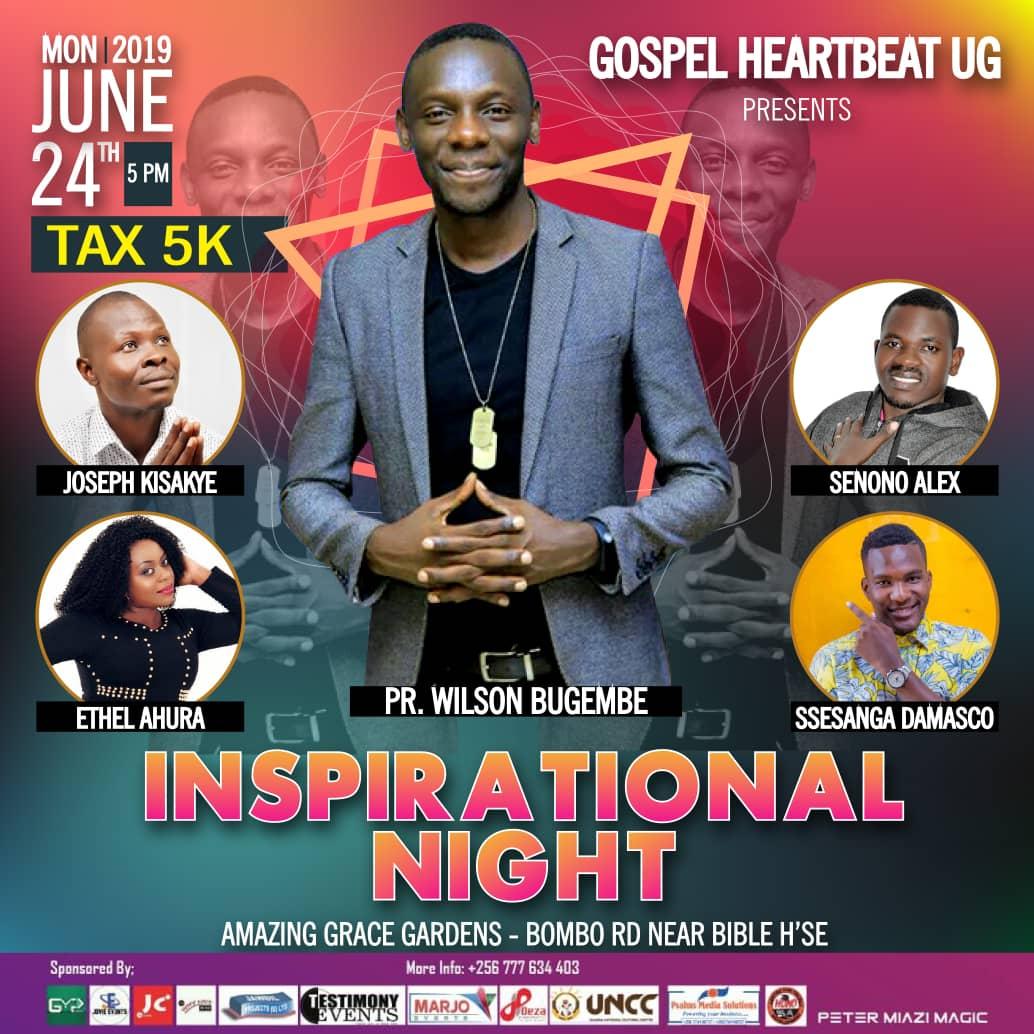Inspirational Night |Gospel Heartbeat Ug Presents