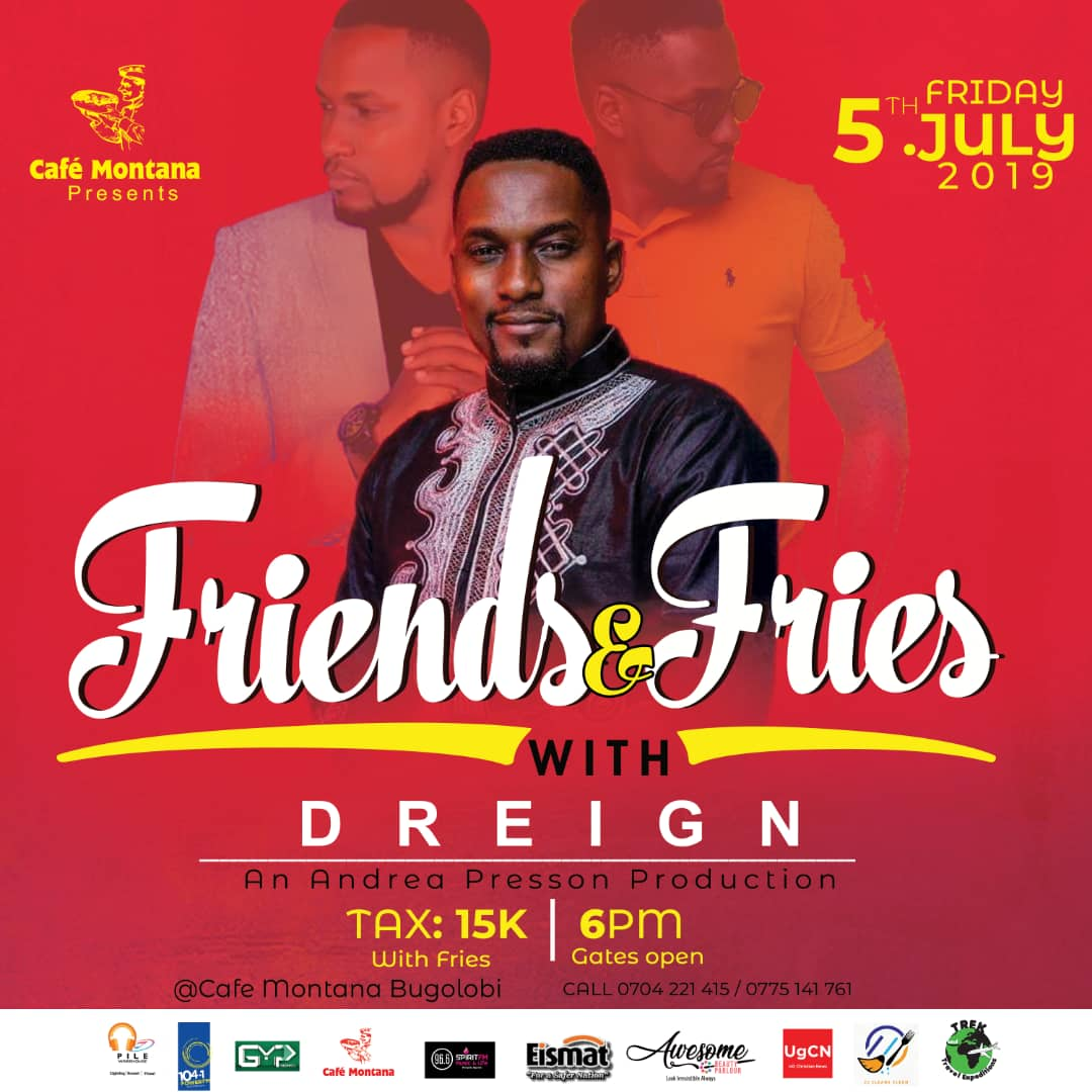 Friends and Fries with D-reign | Cafe Montana Presents