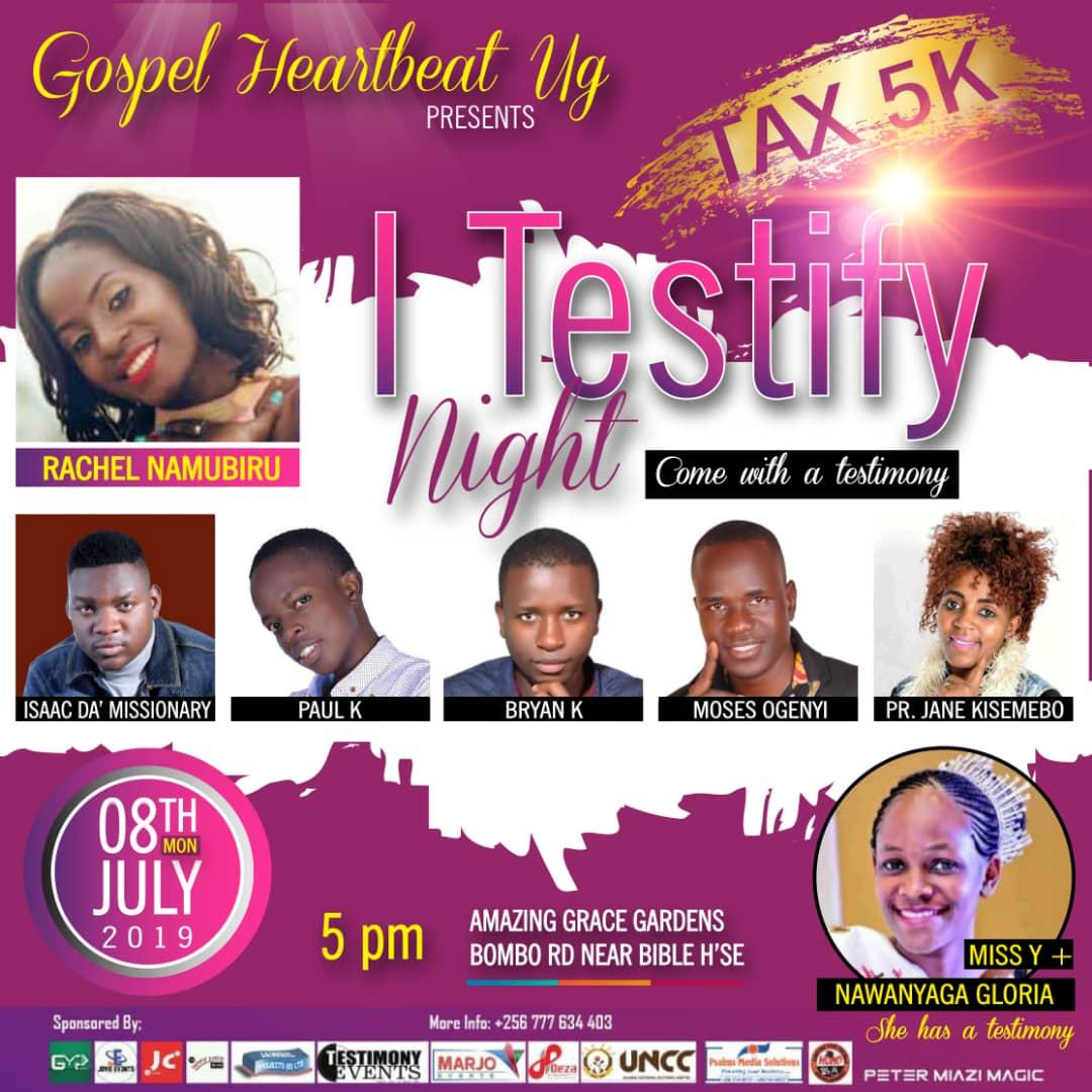 I Testify Night | Gospel Heart Beat Presents