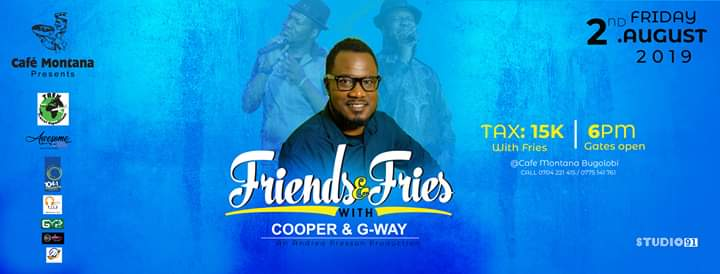 Friends and Fries with Cooper and G-Way | Cafe Montana Presents