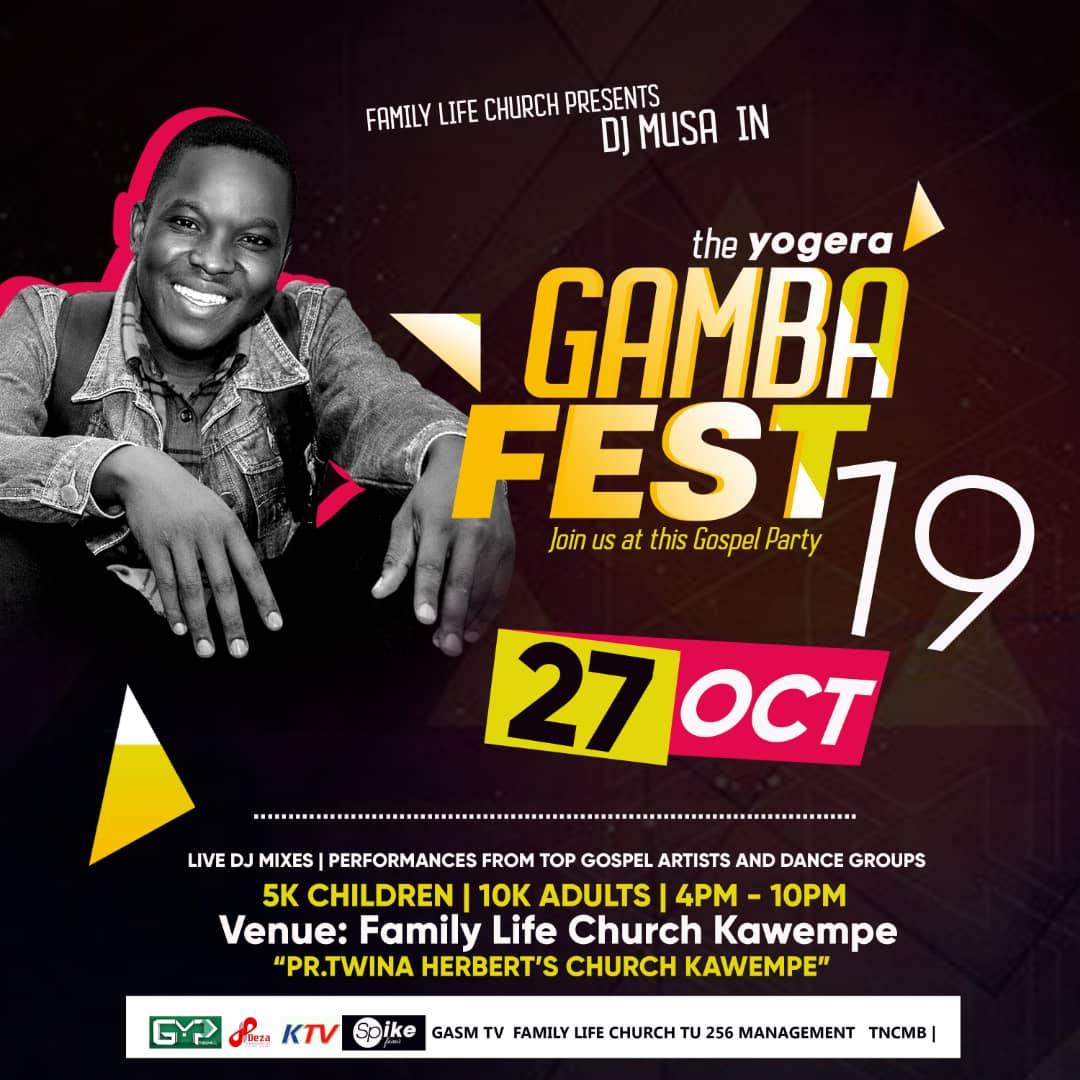 Dj Musa in Gamba Fest