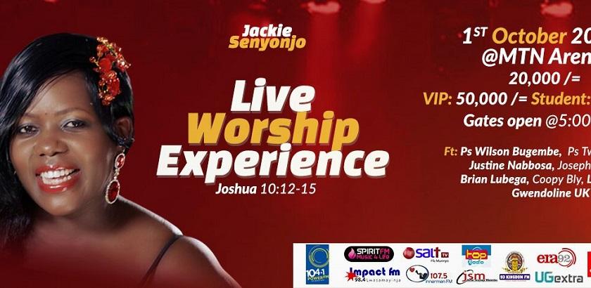 Jackie Senyonjo : Live Worship Experience