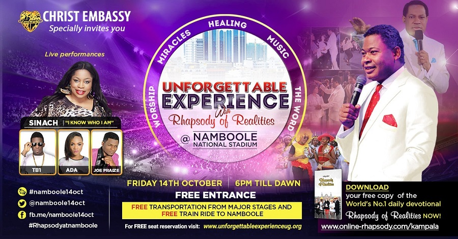 Unforgettable Experience with Rhapsody of Realities