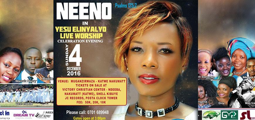 Neeno in Yesu Elinyalyo Live Worship Celebration Evening