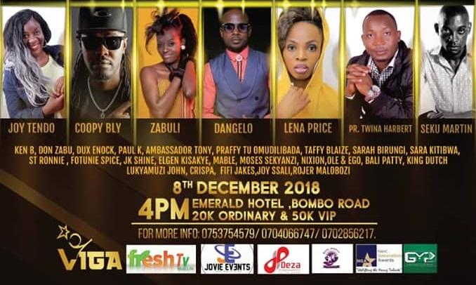 Oli Kitangala Live Concert