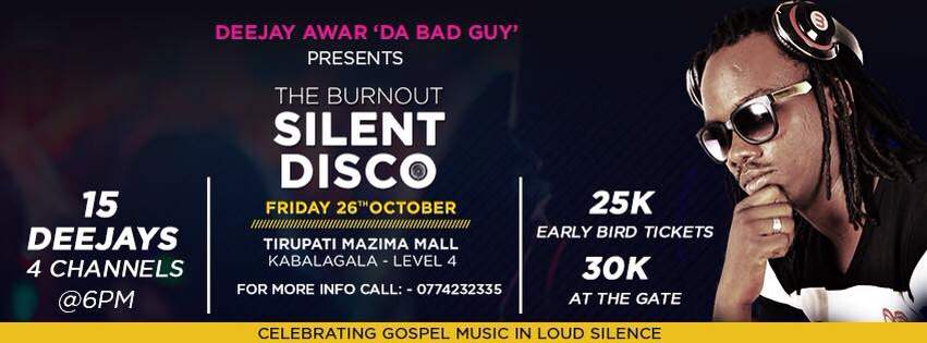 The BurnOut Silent Disco
