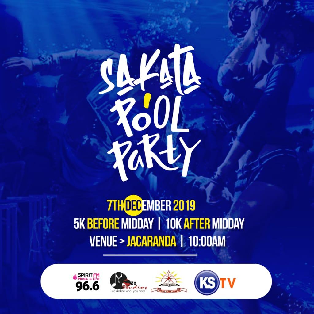 Sakata Pool Party