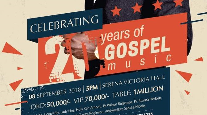 Sseku Martin Celebrating 20Yrs of Gospel Music