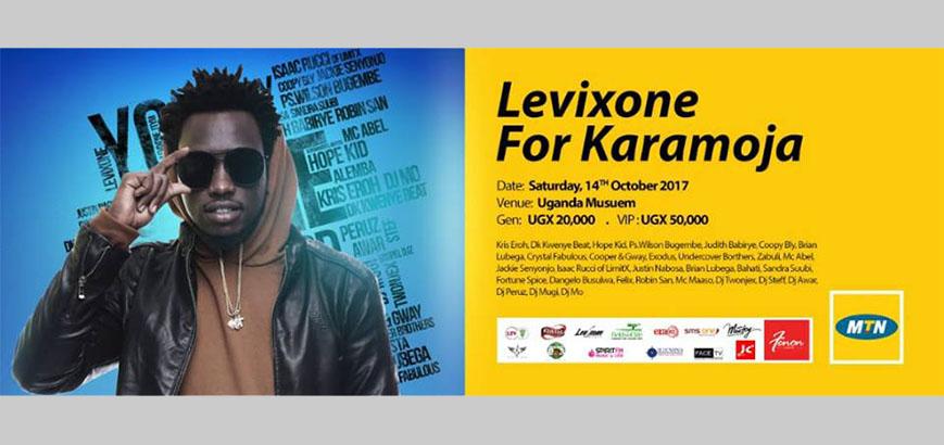 LEVIXONE BRINGS AFRICAN SINGERS TOGETHER FOR KARAMOJA