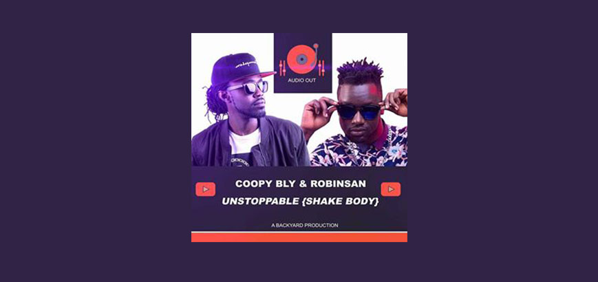 Robinsan & Coopy Bly on the beat #BackyardProduction