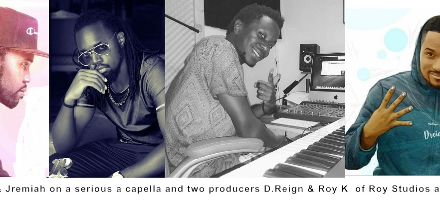 COOPY BLY & JREMIAH ON AN ACAPELLA AND TWO BIG PRODUCERS DREIGN & ROY K OF ROY STUDIOS ON THE BEAT - FREE STYLE