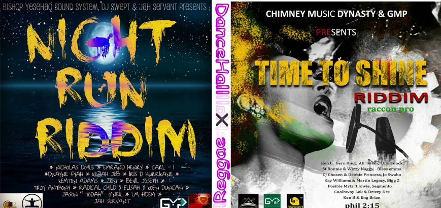 27 ARTISTS ON TWO RIDDIMS TO BE RELEASED HERE ON WEDNESDAY (Reggae X Dancehall)