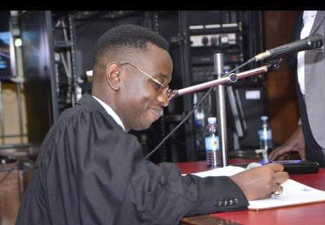 Singer Kyagulanyi S now an advocate in the Ugandan Courts of Law