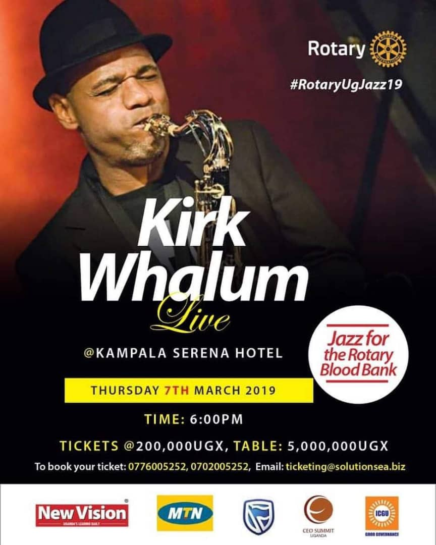 Kirk Whalum Returns to Ug for a Noble cause