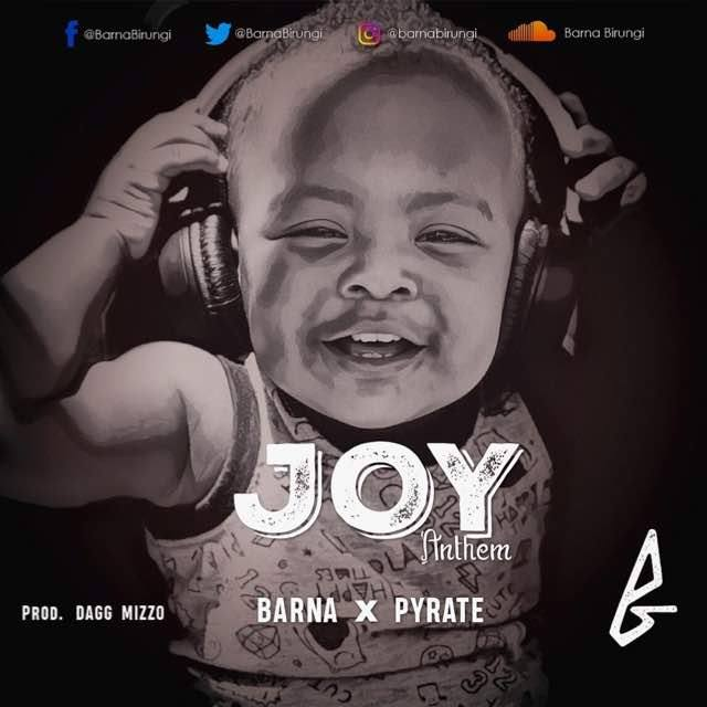 Barna and Pyrate music coalition: Joy Anthem Audio out