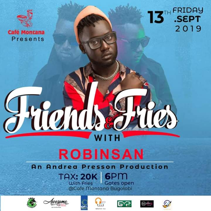 Friends and Fries with Robinsan