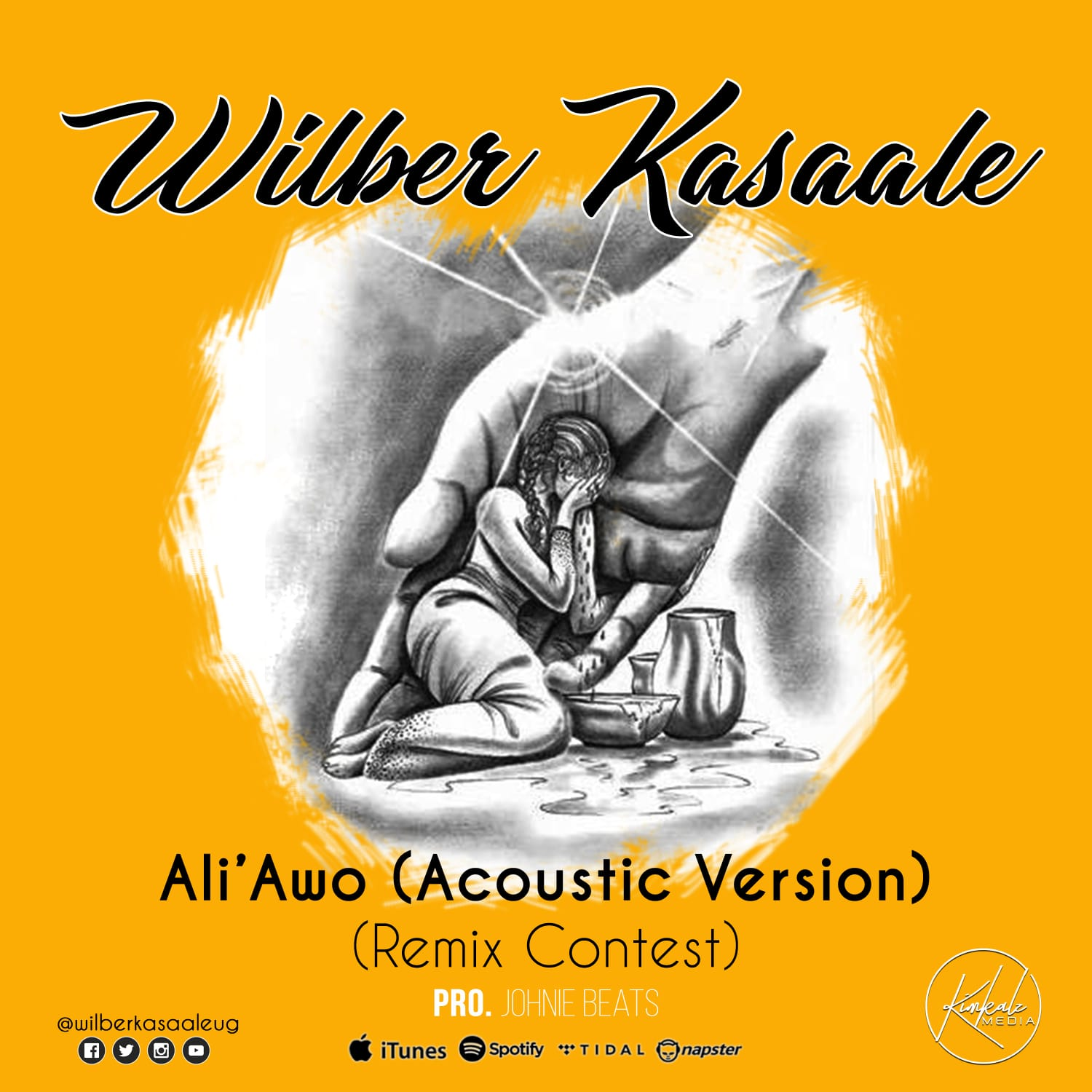 Wilber Kasaale with Ali Awo acoustic version