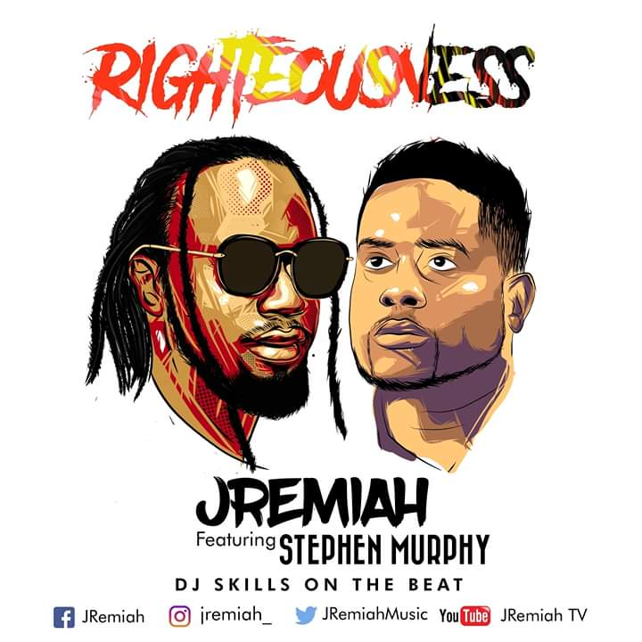 Two Reggae Dancehall maestros on one piece; Righteousness Coming Soon!!