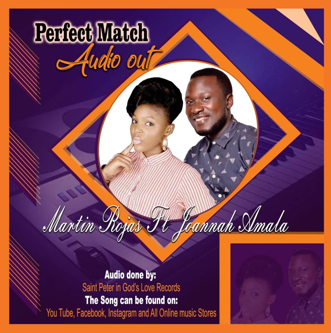 Perfect Match Audio Martin Rogers & Joannah Amala