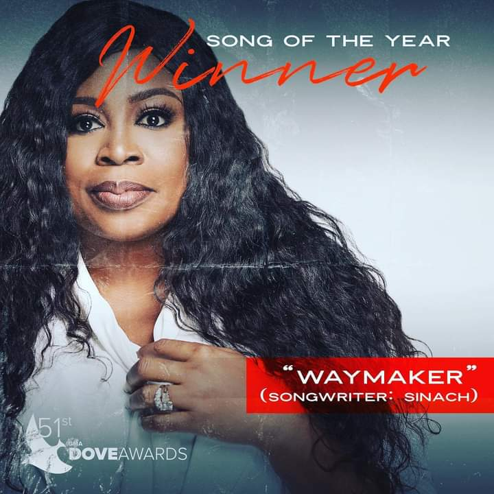 Sinach's Way Maker song at it again