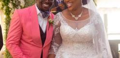Florocka and the Wife celebrate 1year in marriage