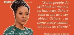 Desire Luzinda speaks out