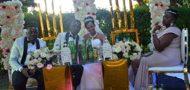 Sseku finally ties the knot with Sandra Nicole