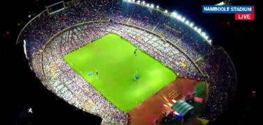 Lil Joe Performing at Namboole Stadium