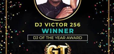 Deejay Victor 256 Scoops The Award