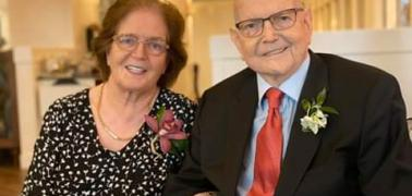 Televangelist Reinhard Bonkee celebrates 55 years in Marriage