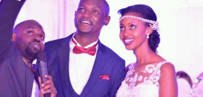 Deejay Peruz finally ties the knot with his missing rib Cilia