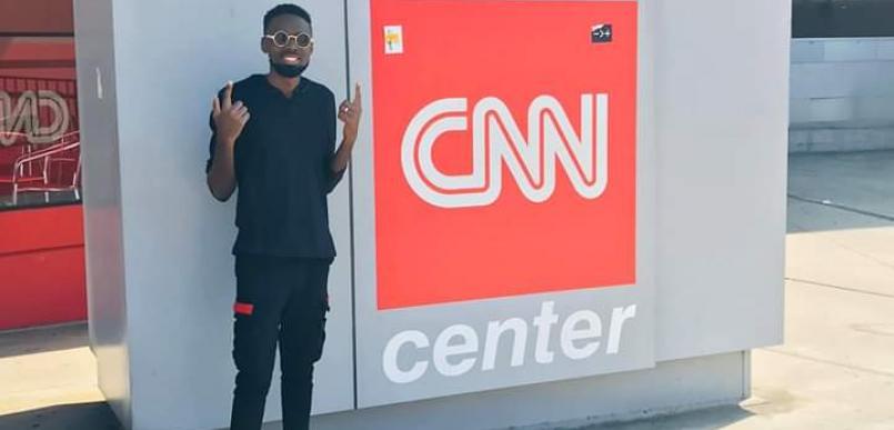 Samie Smilz a Ugandan Gospel Artist at CNN Centre