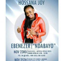 Hossana Joy - Ebenezer (Ndabayo)