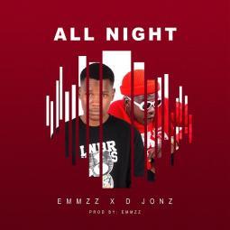 All night album art