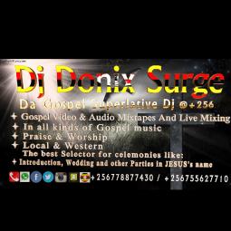 Gospel Mixes by Dj Donix Surge album art