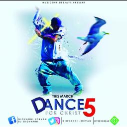Dance for Christ vol 5 art work