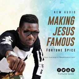Making Jesus Famus album art
